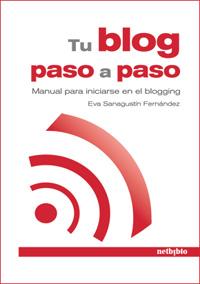 """Portada de mi libro """"Tu blog paso a paso. Manual para iniciarse en el blogging"""""""
