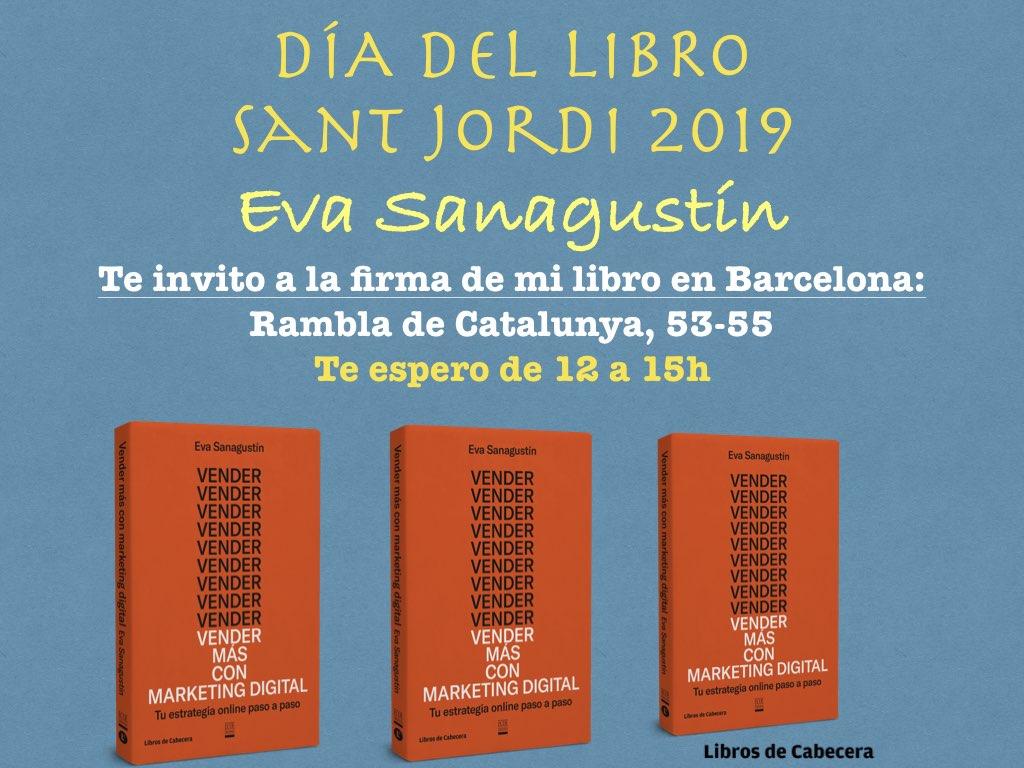 Buenas noticias para Sant Jordi 2019: firmo libros y un nuevo contrato editorial